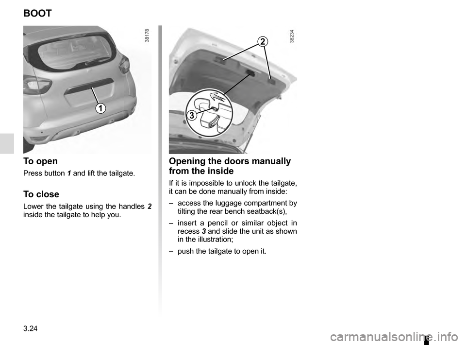 RENAULT CAPTUR 2016 1.G Owners Manual, Page 152