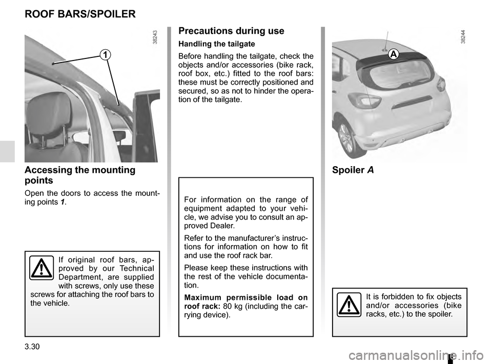 RENAULT CAPTUR 2016 1.G Owners Manual, Page 158