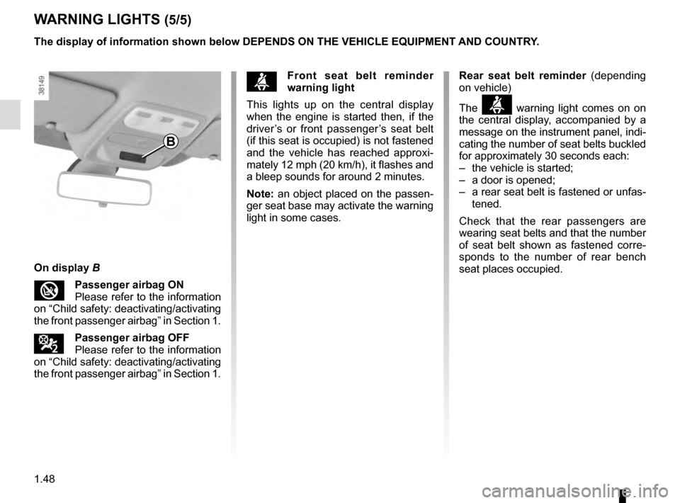 RENAULT CAPTUR 2016 1.G Owners Manual, Page 54