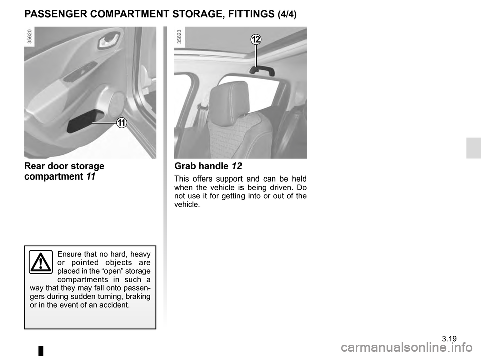 RENAULT CLIO 2016 X98 / 4.G Owners Manual, Page 155