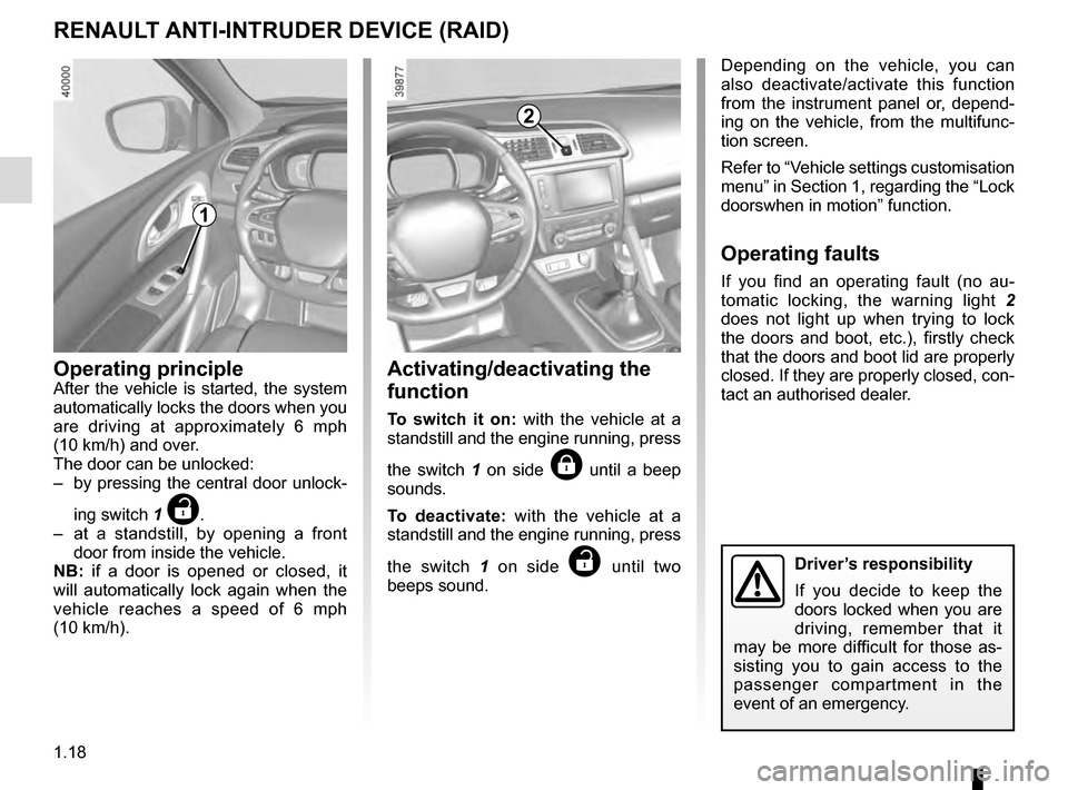 RENAULT KADJAR 2016 1.G Owners Manual, Page 24