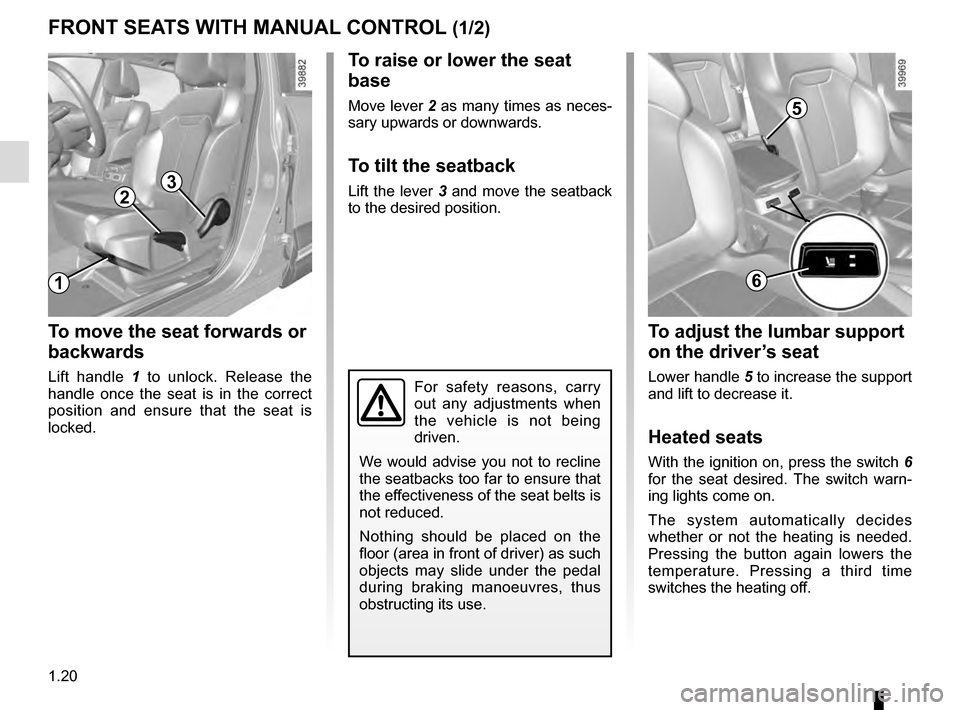 RENAULT KADJAR 2016 1.G Owners Manual, Page 26