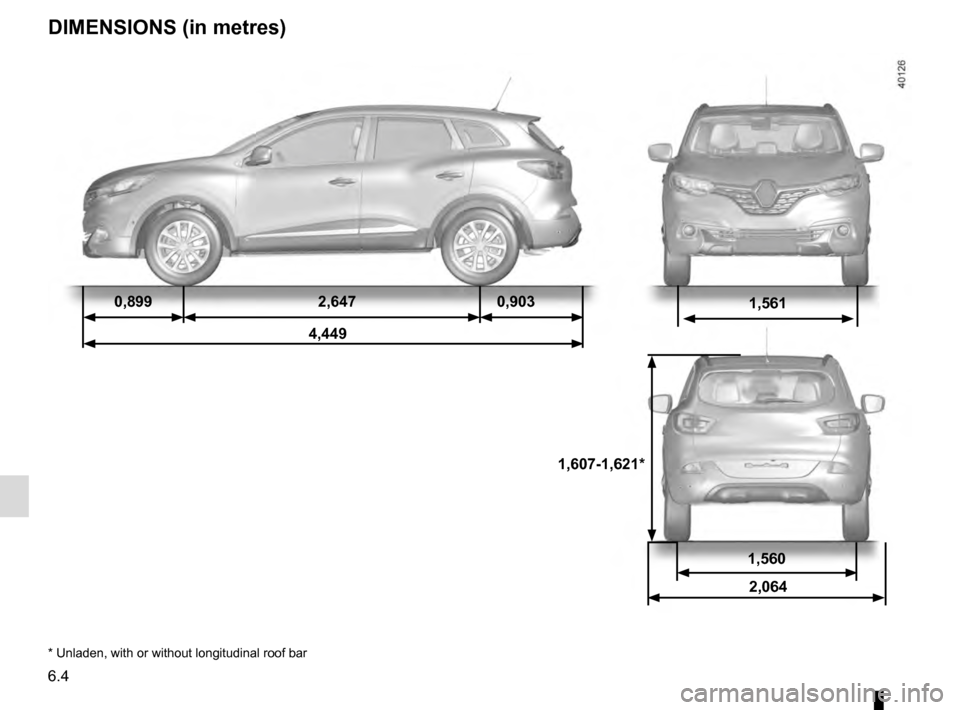 RENAULT KADJAR 2016 1.G Owners Manual, Page 278