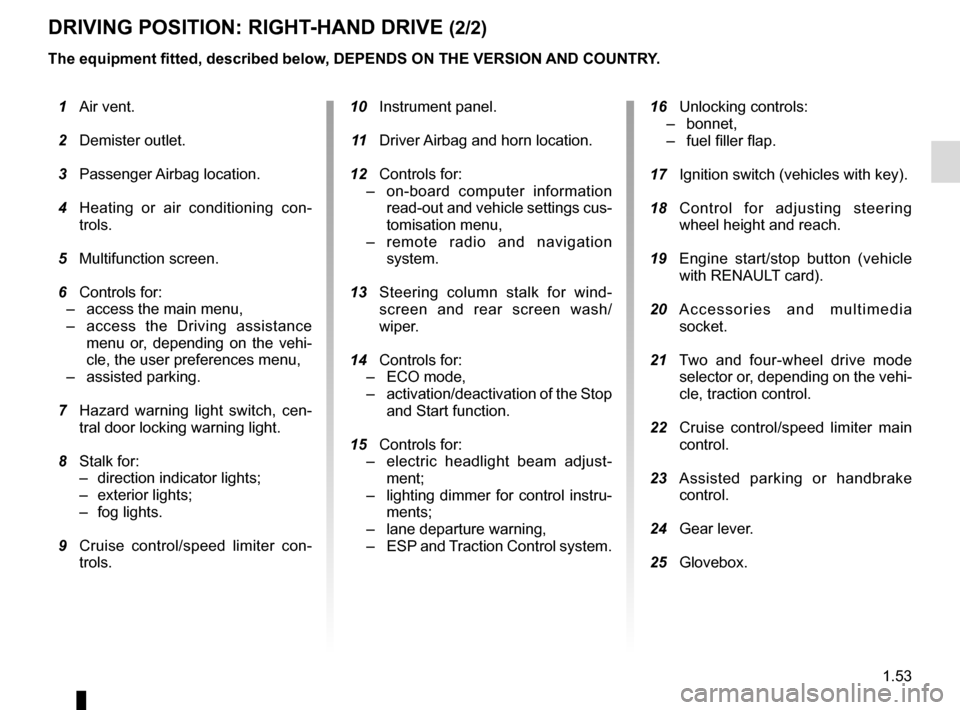 RENAULT KADJAR 2016 1.G Owners Manual, Page 59