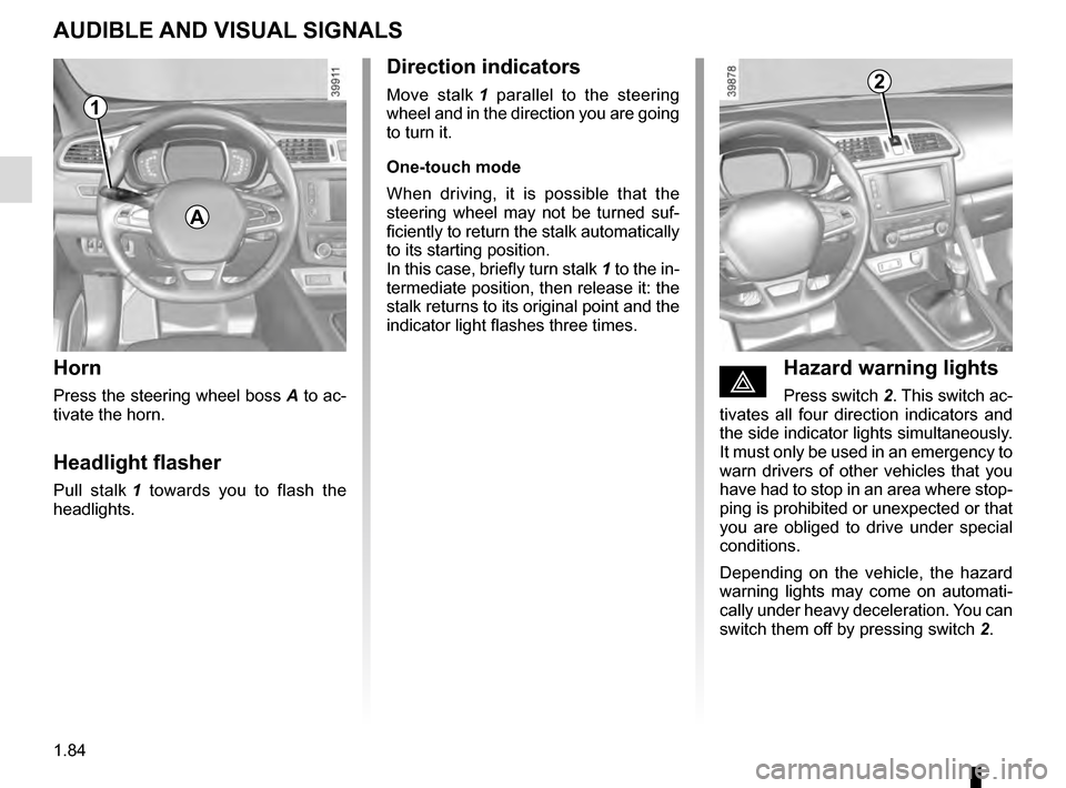 RENAULT KADJAR 2016 1.G Owners Manual, Page 90