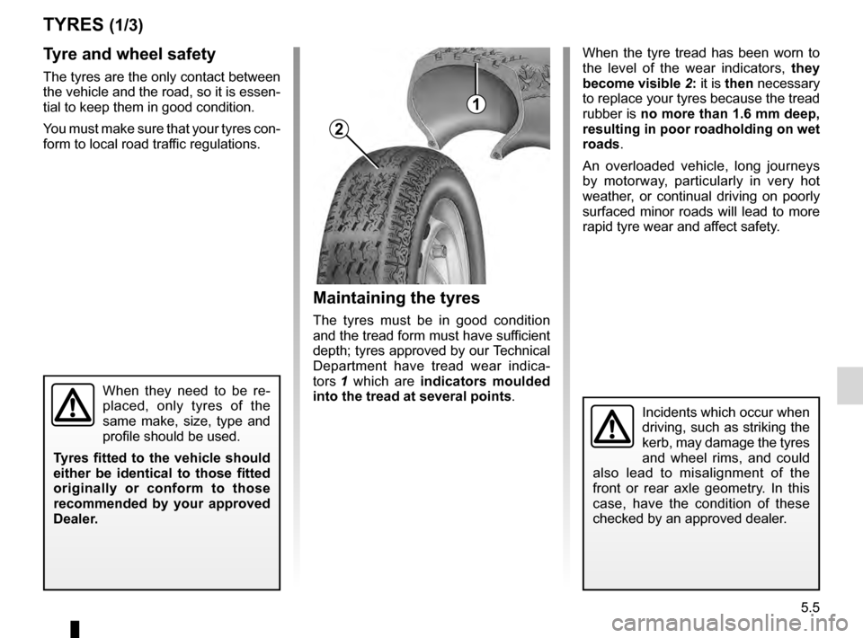 RENAULT KANGOO 2016 X61 / 2.G Owners Manual, Page 117