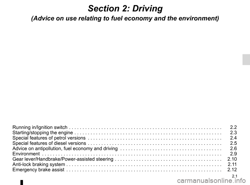 RENAULT KANGOO 2016 X61 / 2.G Owners Manual, Page 63