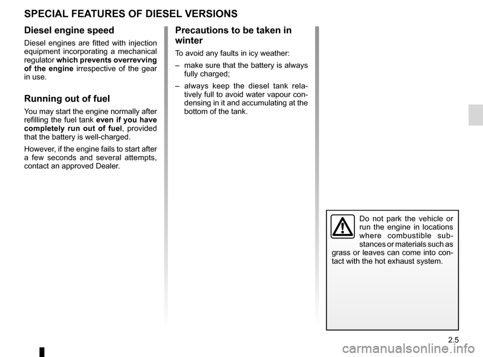 RENAULT KANGOO 2016 X61 / 2.G Owners Manual, Page 67