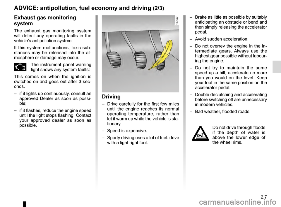 RENAULT KANGOO 2016 X61 / 2.G Owners Manual, Page 69