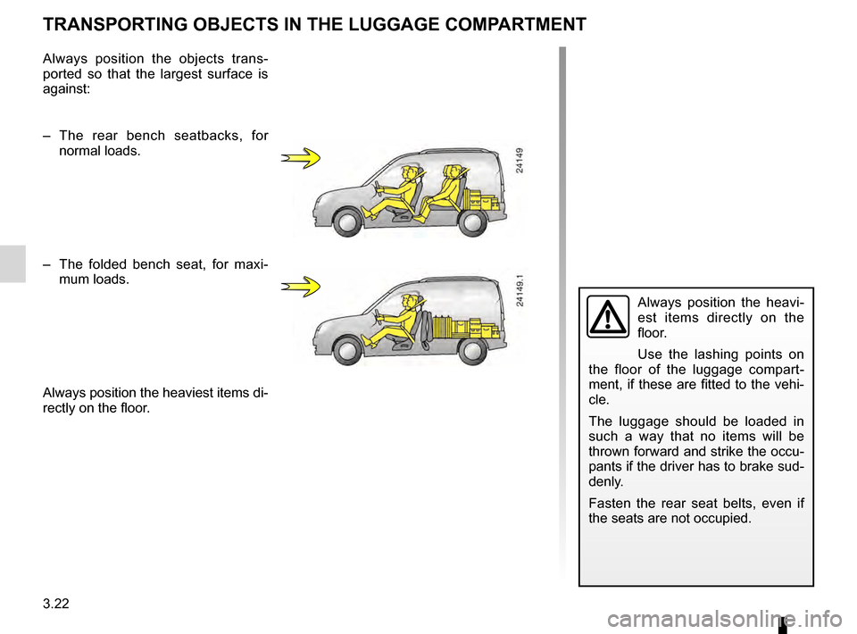 RENAULT KANGOO 2016 X61 / 2.G Owners Manual, Page 96