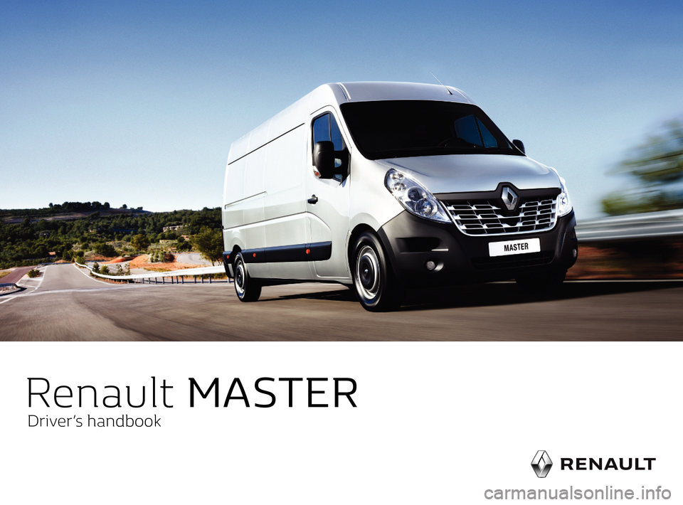 RENAULT MASTER 2016 X62 / 2.G Owners Manual, Page 1