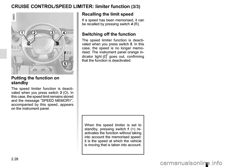 RENAULT MASTER 2016 X62 / 2.G Owners Manual, Page 142
