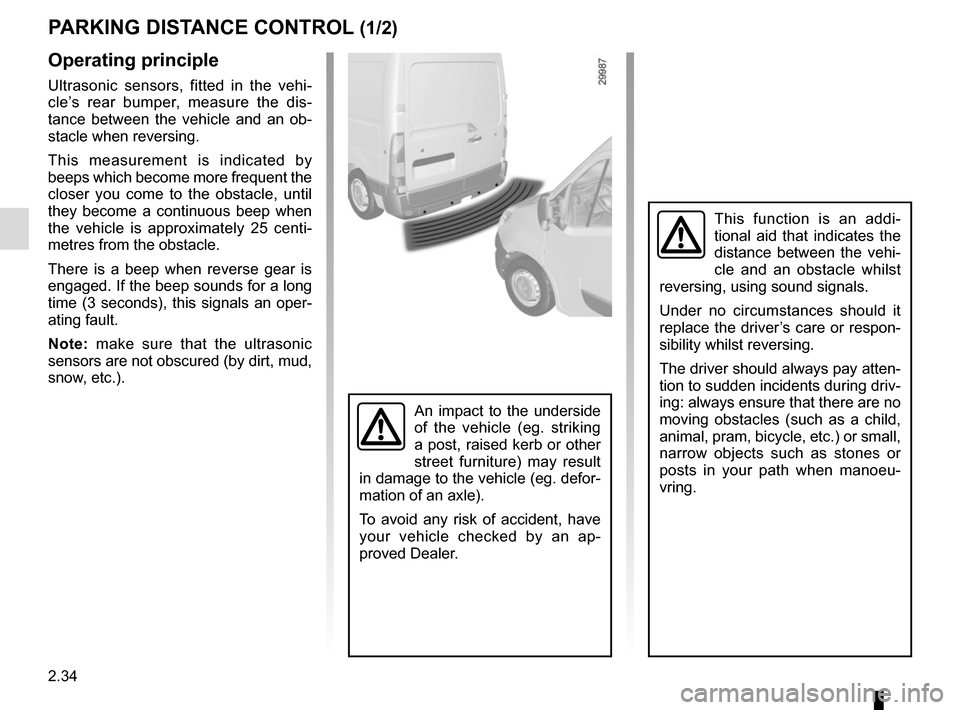 RENAULT MASTER 2016 X62 / 2.G Owners Manual, Page 148