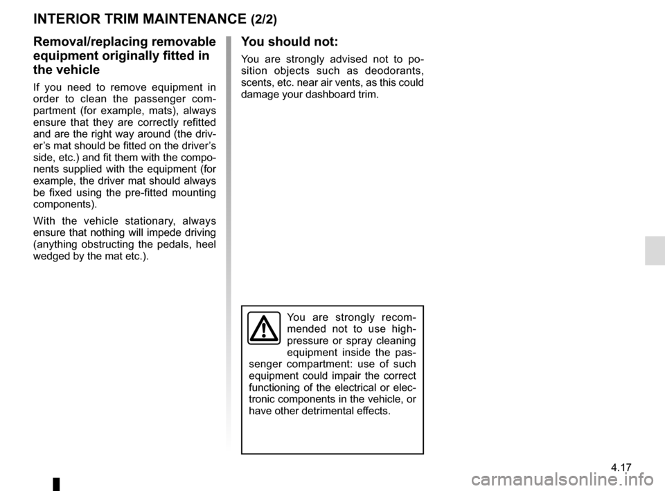RENAULT MASTER 2016 X62 / 2.G Owners Manual, Page 207