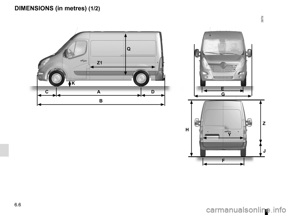 RENAULT MASTER 2016 X62 / 2.G Owners Manual, Page 260