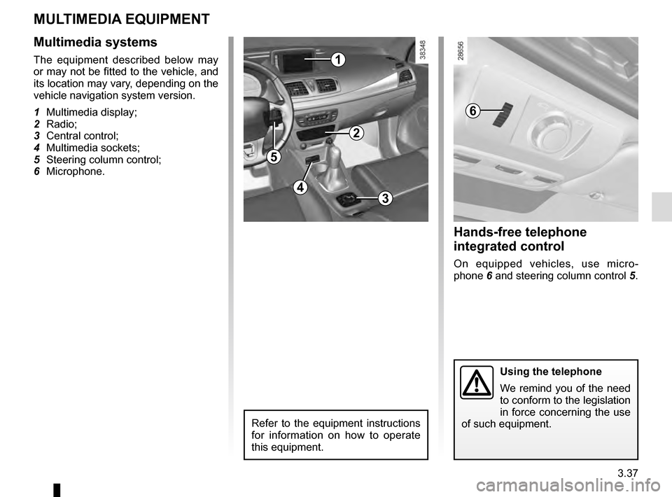 RENAULT MEGANE COUPE 2016 X95 / 3.G Owners Manual, Page 181