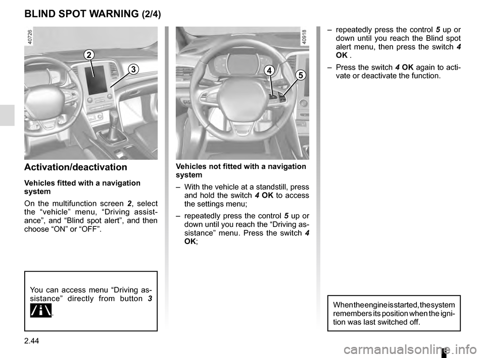 RENAULT MEGANE 2016 X95 / 3.G Owners Manual, Page 152
