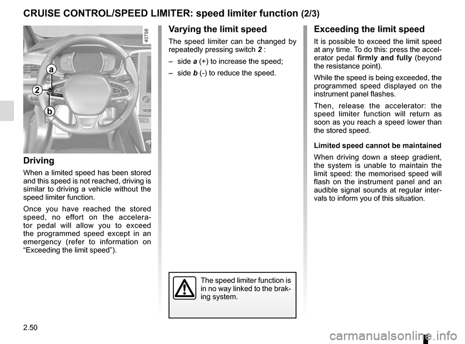 RENAULT MEGANE 2016 X95 / 3.G Owners Manual, Page 158