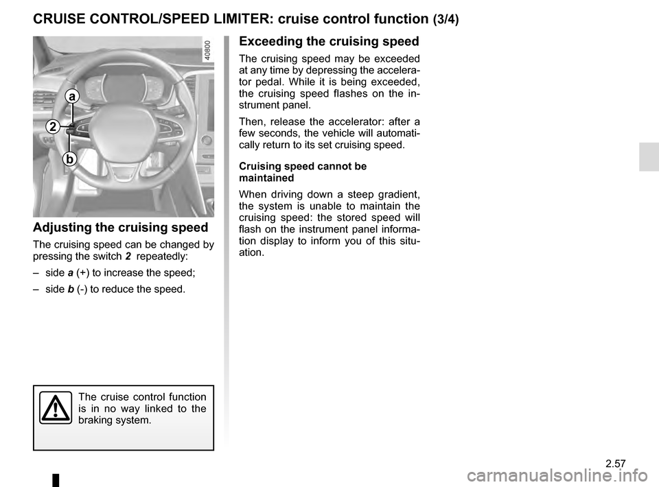 RENAULT MEGANE 2016 X95 / 3.G Owners Manual, Page 165