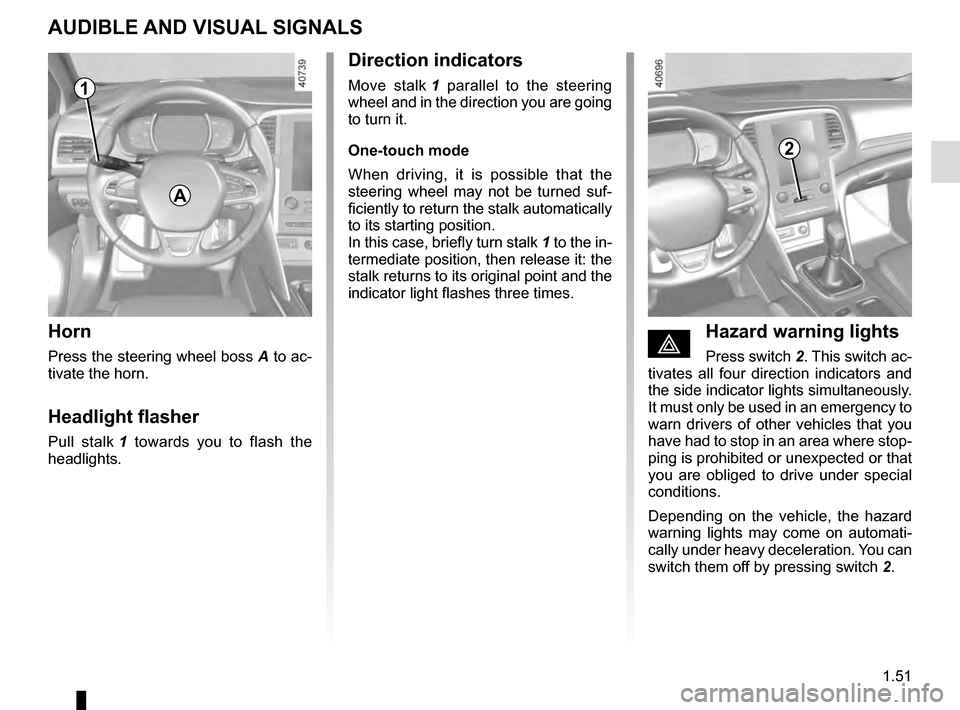 RENAULT MEGANE 2016 X95 / 3.G Owners Manual, Page 57
