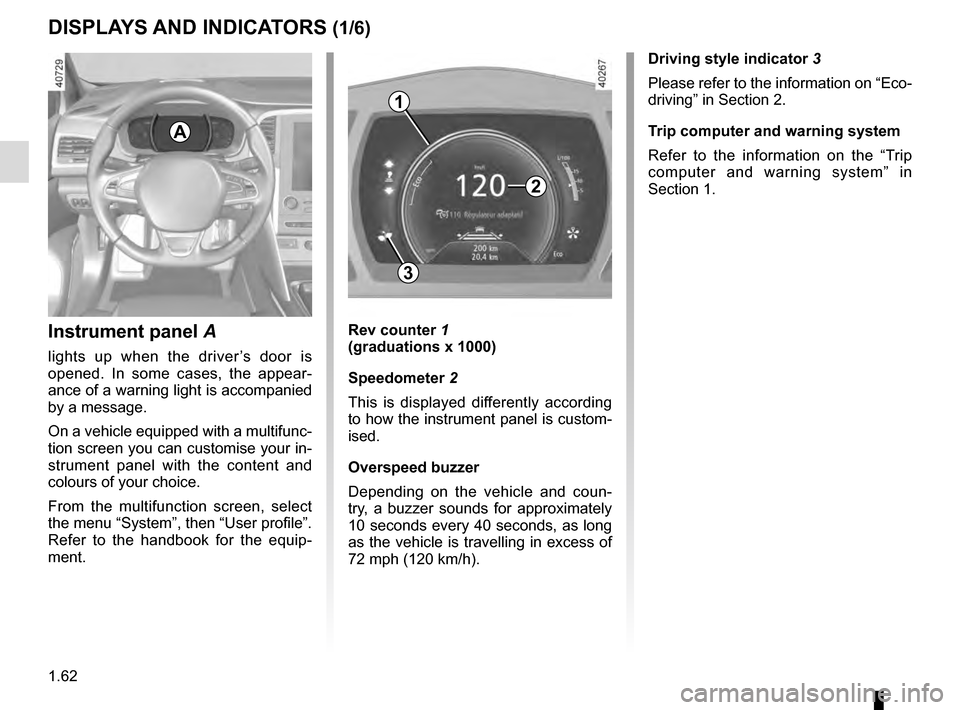 RENAULT MEGANE 2016 X95 / 3.G Owners Manual, Page 68
