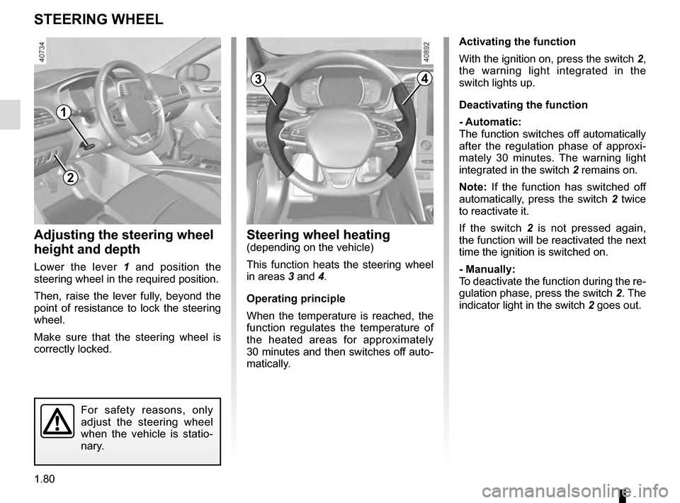 RENAULT MEGANE 2016 X95 / 3.G Owners Manual, Page 86