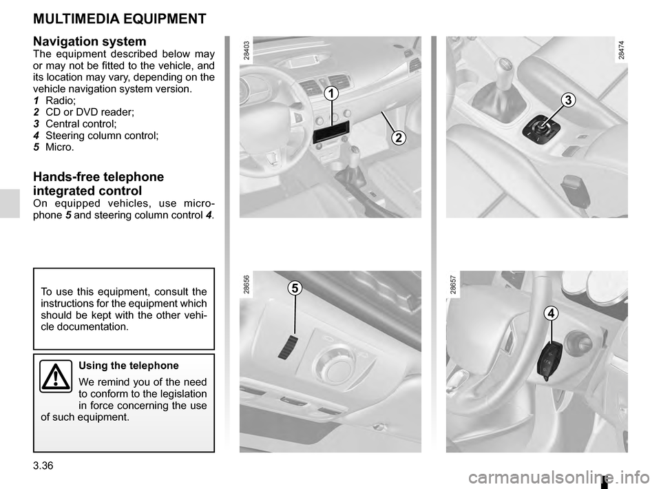 RENAULT MEGANE HATCHBACK 2016 X95 / 3.G Owners Manual, Page 158