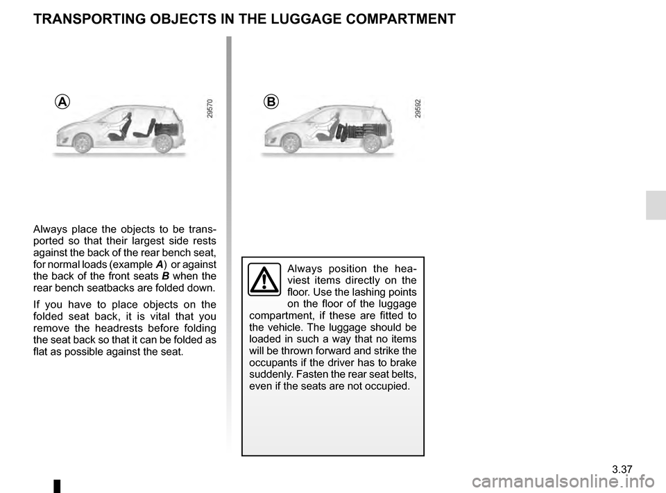 RENAULT SCENIC 2016 J95 / 3.G Owners Manual, Page 177