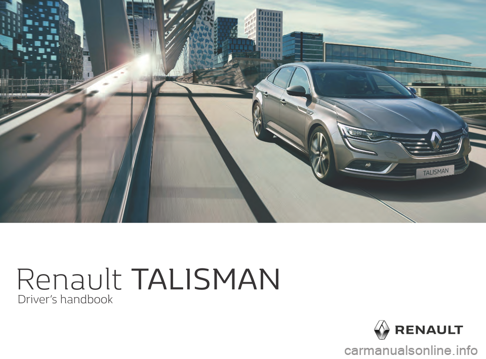 RENAULT TALISMAN 2016 1.G Owners Manual, Page 1