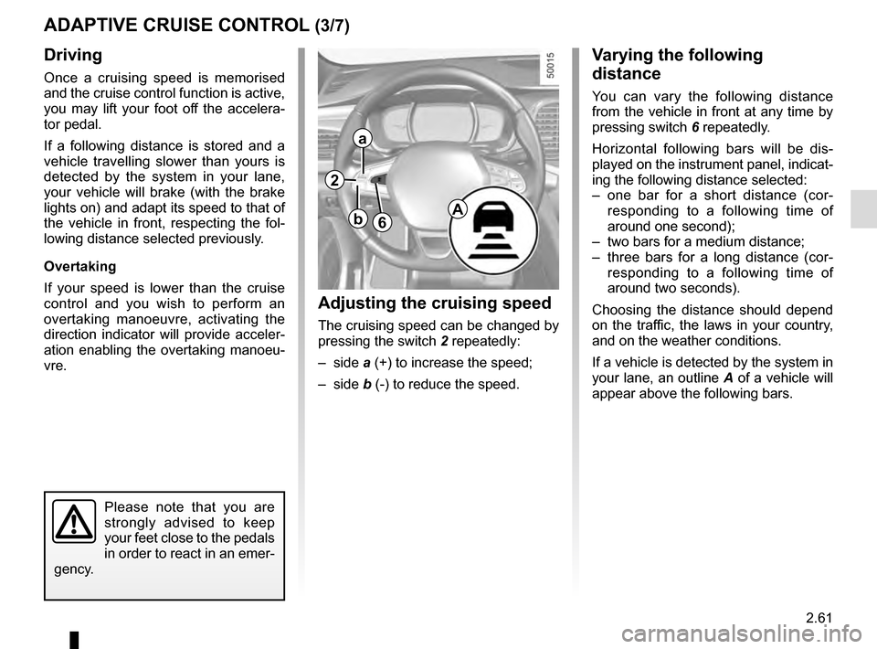 RENAULT TALISMAN 2016 1.G Owners Manual, Page 169