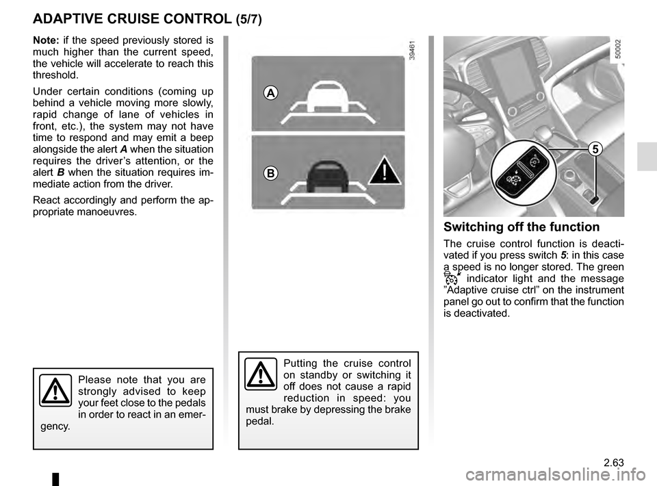 RENAULT TALISMAN 2016 1.G Owners Manual, Page 171