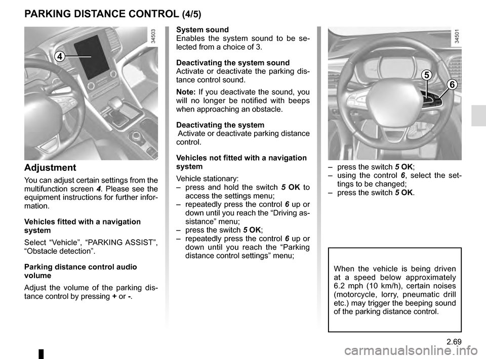 RENAULT TALISMAN 2016 1.G Owners Manual, Page 177