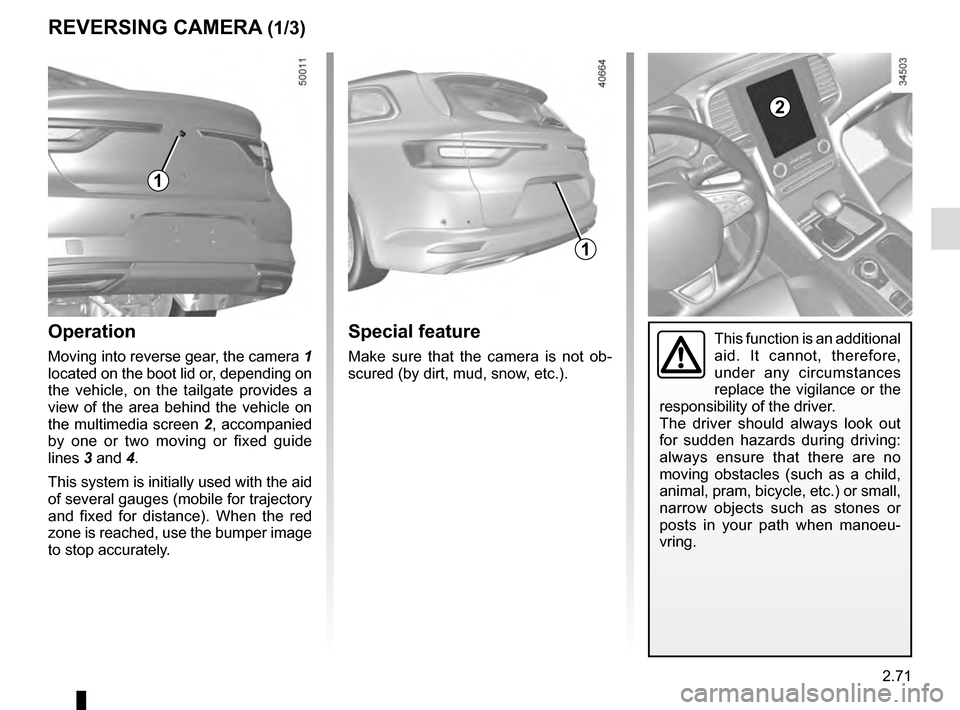 RENAULT TALISMAN 2016 1.G Owners Manual, Page 179