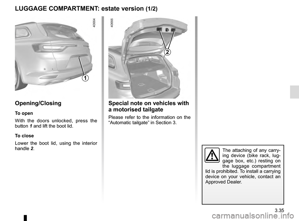RENAULT TALISMAN 2016 1.G Owners Manual, Page 225