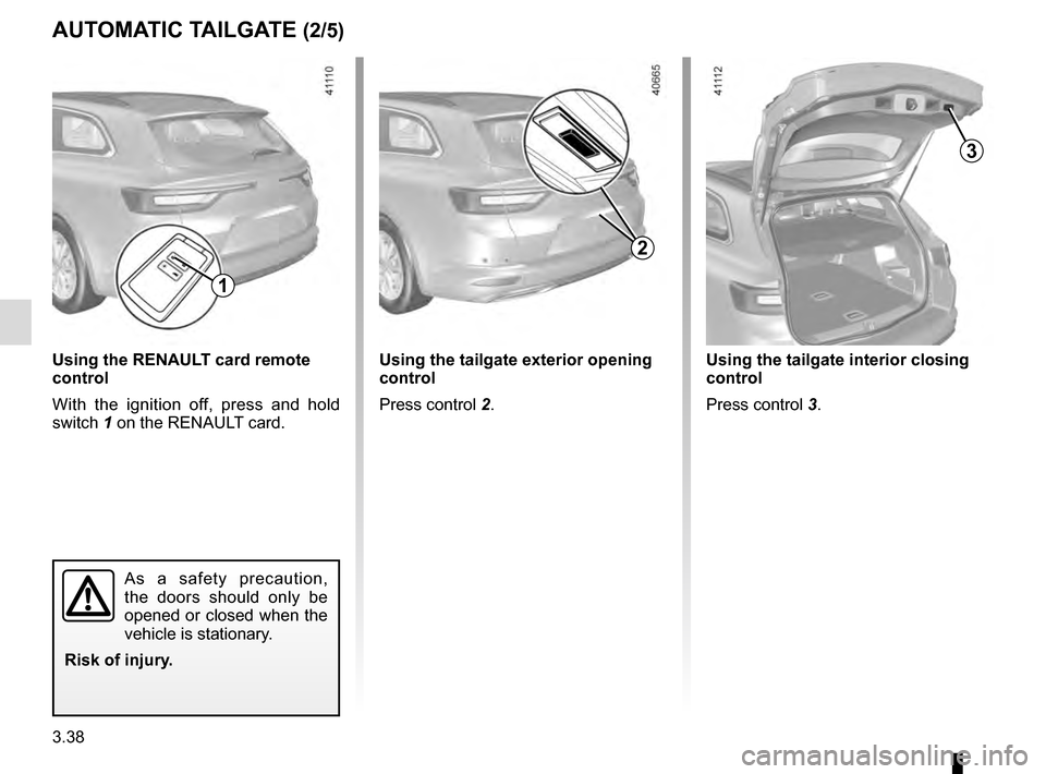 RENAULT TALISMAN 2016 1.G Owners Manual, Page 228
