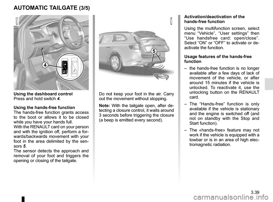 RENAULT TALISMAN 2016 1.G Owners Manual, Page 229