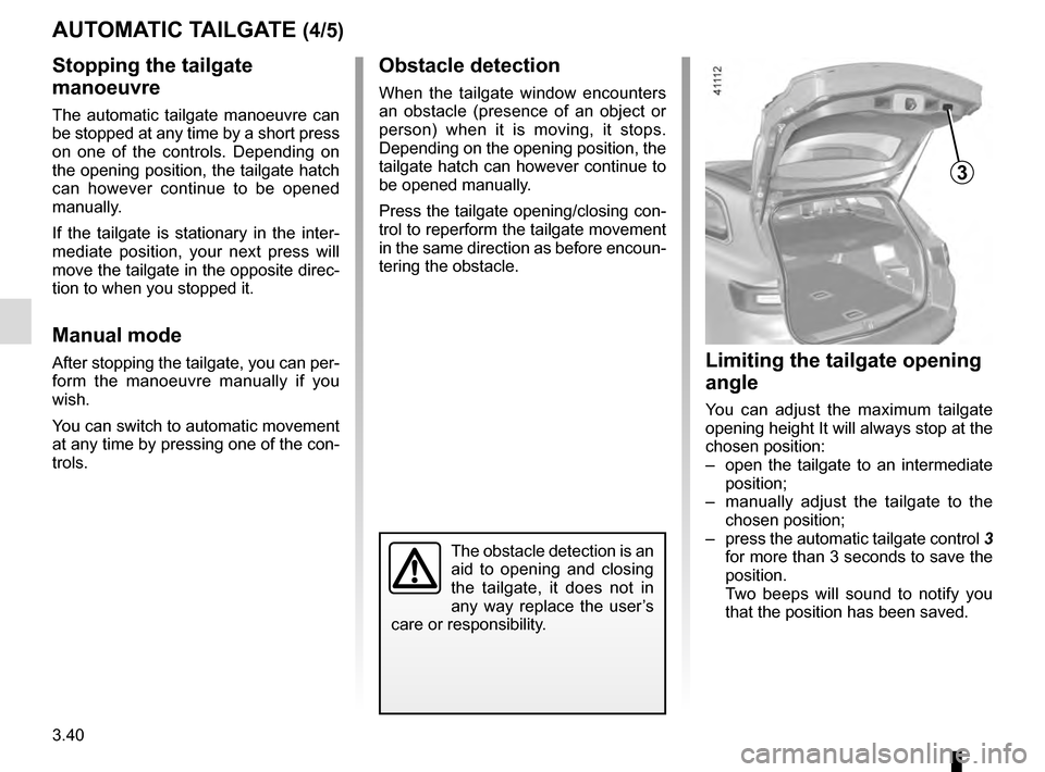 RENAULT TALISMAN 2016 1.G Owners Manual, Page 230