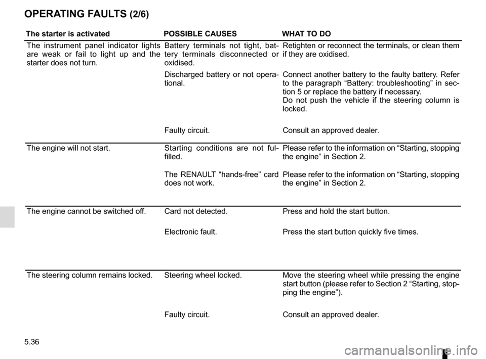 RENAULT TALISMAN 2016 1.G Owners Manual, Page 296