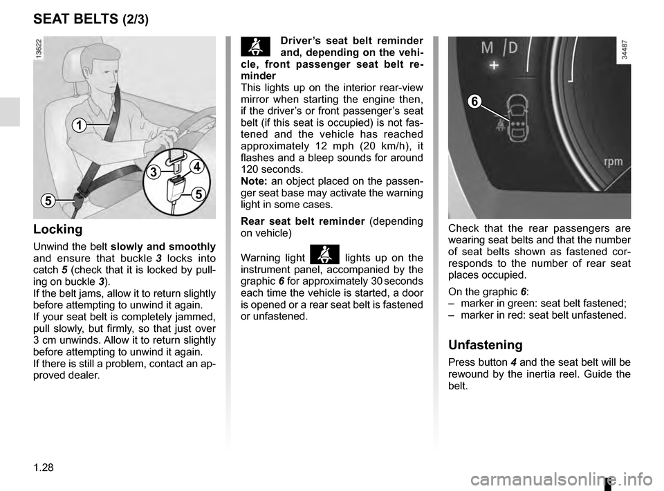 RENAULT TALISMAN 2016 1.G Owners Manual, Page 34