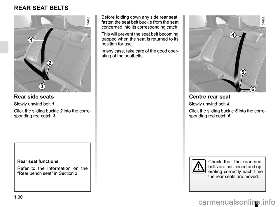 RENAULT TALISMAN 2016 1.G Owners Manual, Page 36