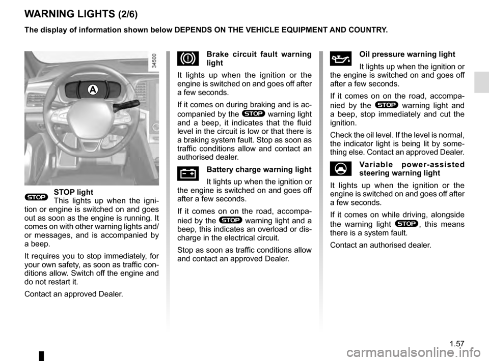 RENAULT TALISMAN 2016 1.G Owners Manual, Page 63