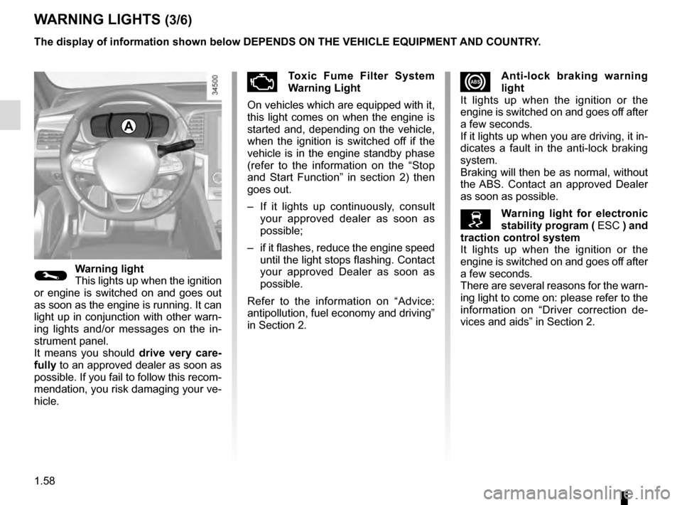 RENAULT TALISMAN 2016 1.G Owners Manual, Page 64