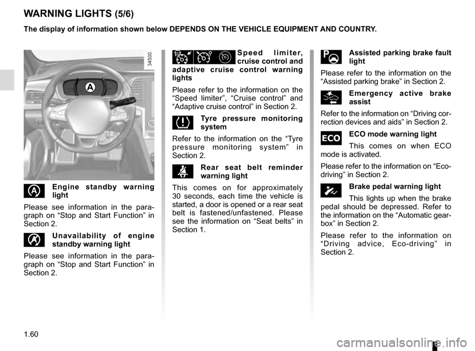 RENAULT TALISMAN 2016 1.G Owners Manual, Page 66