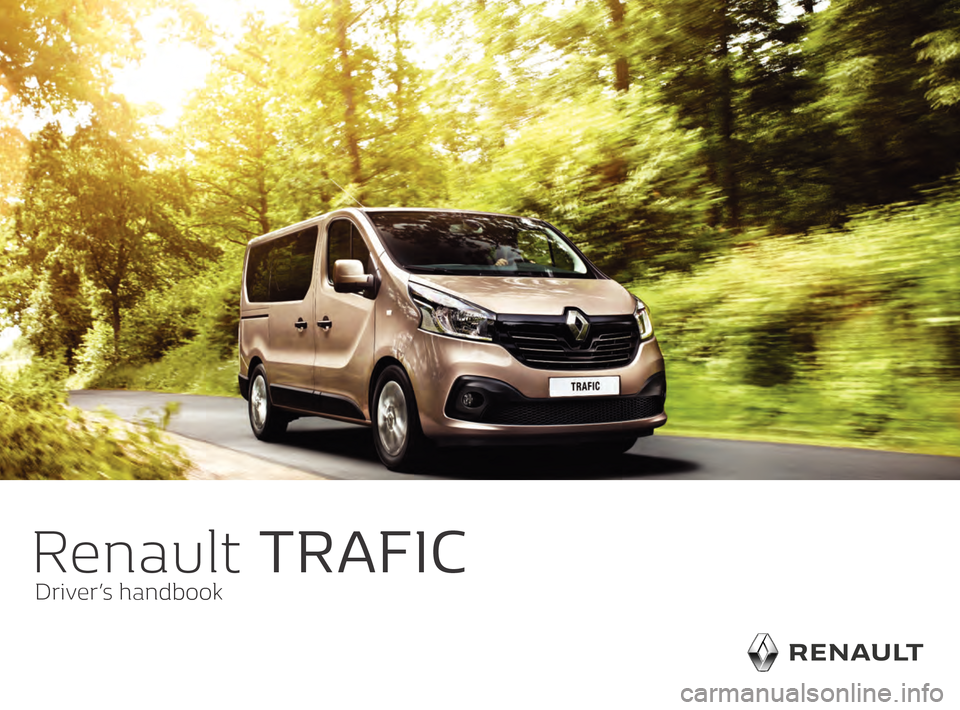 RENAULT TRAFIC 2016 X82 / 3.G Owners Manual, Page 1