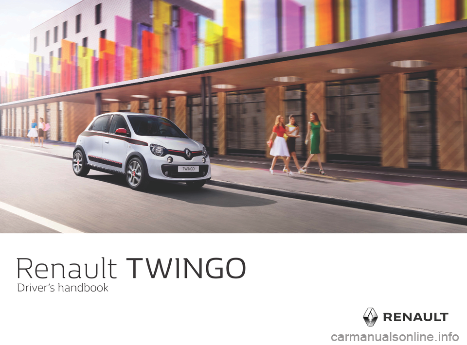 RENAULT TWINGO 2016 3.G Owners Manual, Page 1
