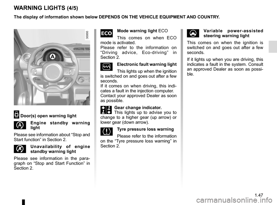 RENAULT TWINGO 2016 3.G Owners Manual, Page 53