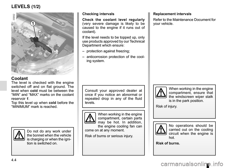 RENAULT ZOE 2016 1.G Owners Manual, Page 156