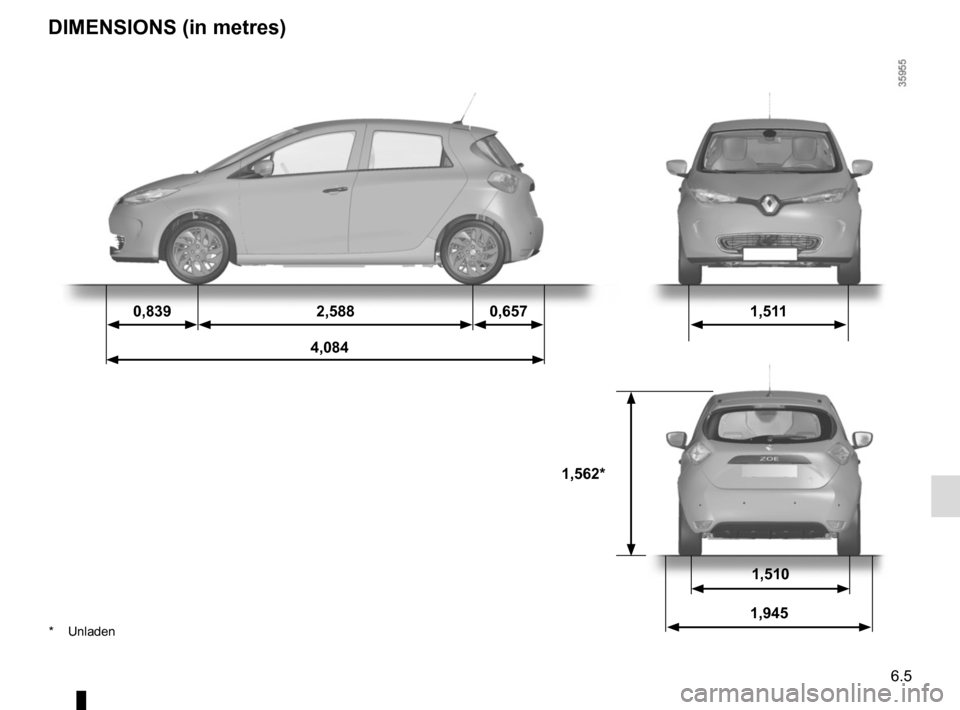 RENAULT ZOE 2016 1.G Owners Manual, Page 195