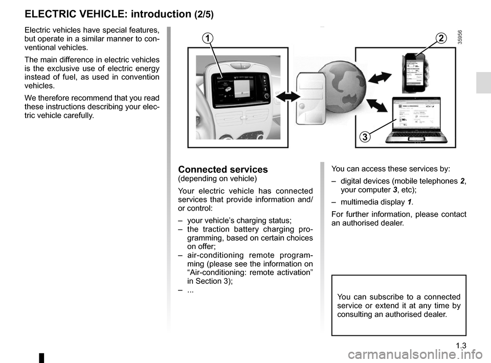 RENAULT ZOE 2016 1.G Owners Manual, Page 9