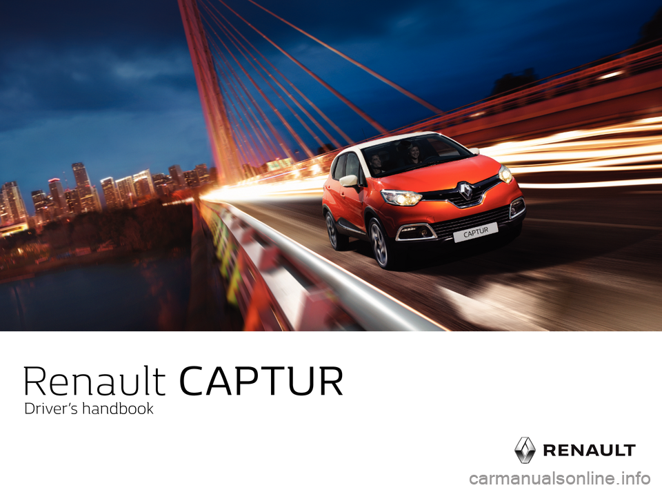 RENAULT CAPTUR 2017 1.G Owners Manual, Page 1
